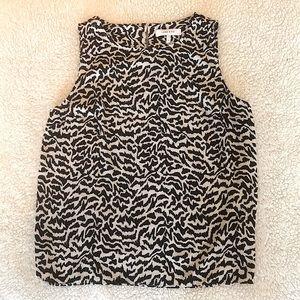 🌺 4/$25 sale Lark and Ro zebra print blouse